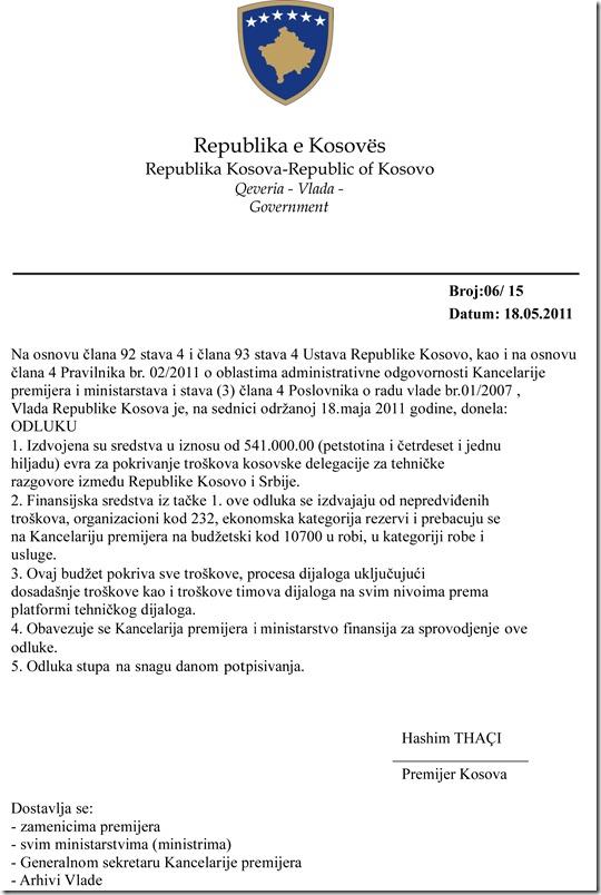 Odluka vlade Kosova_opt